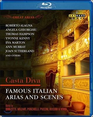 유명 이탈리아 오페라 아리아와 장면들 - 정결한 여신: 도니제티 / 모차르트 / 푸치니 외 (Casta Diva - Famous Italian Arias And Scenes: Donizetti, Mozart, Ponchielli, Puccini)