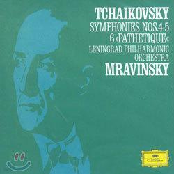 Tchaikovsky : Symphony No.4 & No.5 & No.6 : Evgeny MravinskyㆍLeningrad Philharmonic