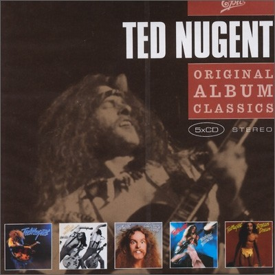 Ted Nugent - Original Album Classics (Ted Nugent + Free For All + Cat Scratch Fever + Weekend Warriors + Scream Dream)