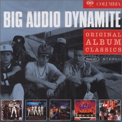 Big Audio Dynamite - Original Album Classics (This Is Big Audio Dynamite + No.10, Upping ST. + Tighten Up Vol.88 + Megatop Phoenix + The Golbe)