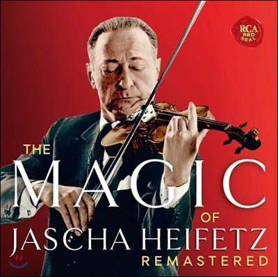 Jascha Heifetz 매직 오브 야샤 하이페츠 - 베스트 앨범 (The Magic of Jascha Heifetz - Selections from his Complete Remastered Stereo Recordings) [2016 리마스터드 에디션]