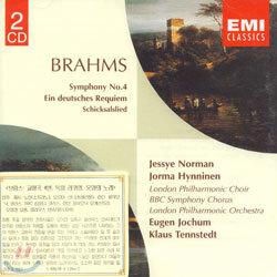 Brahms : Symphony No.4 etc. : JochumㆍTennstedt