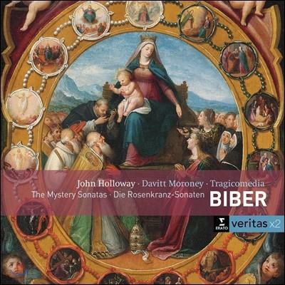 John Holloway 비버 : 미스터리 소나타 (Biber: The Rosary Sonatas)