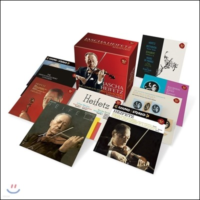 Jascha Heifetz 야샤 하이페츠 스테레오 컬렉션 전집 [리마스터드 에디션] (The Complete Stereo Collection Remastered)