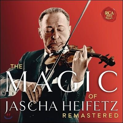 Jascha Heifetz 매직 오브 야샤 하이페츠 - 베스트 앨범 (The Magic of Jascha Heifetz - Selections from his Complete Remastered Stereo Recordings)