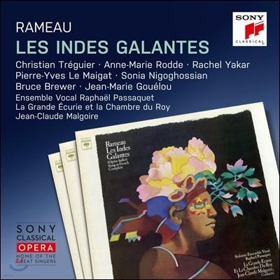 Jean-Claude Malgoire 라모: 우아한 인도의 나라들 (Rameau: Les Indes Galantes)