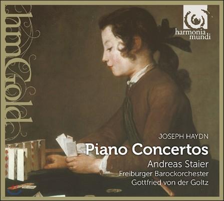 Andreas Staier 하이든: 피아노 협주곡 4, 6, 11번 - 안드레아스 슈타이어, 프라이부르크 바로크오케스트라 (Haydn: Piano Concertos)