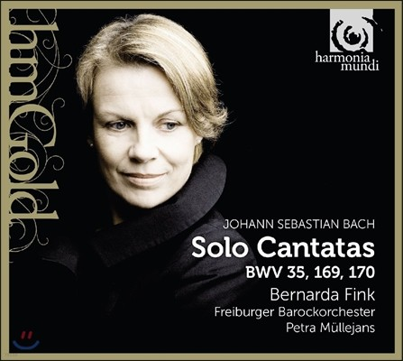 Bernarda Fink 바흐: 솔로 칸타타 BWV 35, 169, 170 - 베르나르다 핑크, 프라이부르크 바로크 오케스트라 (J.S. Bach: Solo Cantatas)