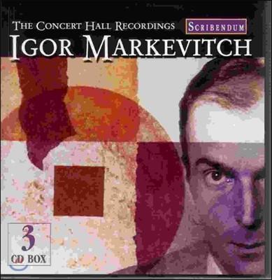 Igor Markevitch 이고르 마르케비치 - 콘서트 홀 모음 (The Concert Hall Recordings)
