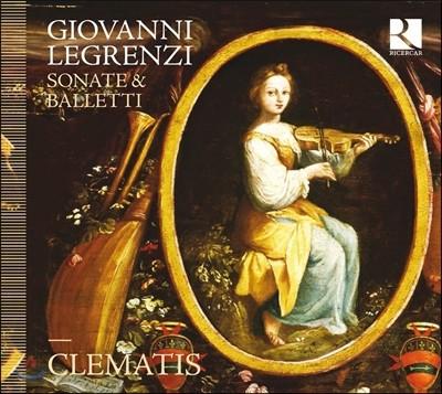 Ensemble Clematis 조반니 레그렌치: 소나타와 발레토 (Giovanni Legrenzi: Sonate & Balletti) 앙상블 클레마티스