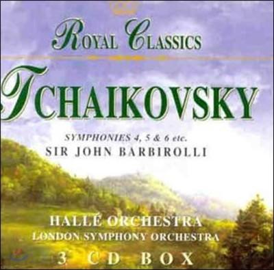 John Barbirolli 차이코프스키: 교향곡 4번, 5번, 6번 '비창' - 존 바비롤리, 할레 오케스트라 (Tchaikovsky: Symphonies Opp.36, 64, 74)