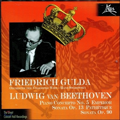 Friedrich Gulda 베토벤: 피아노 협주곡 5번 '황제', 피아노 소나타 8번 '비창', 27번 - 프리드리히 굴다 (Beethoven: Piano Concerto Emperor, Sonata Pathetique)