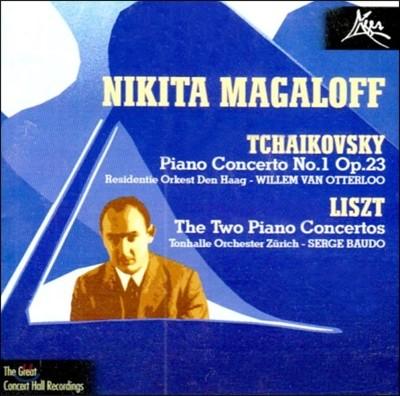 Nikita Magaloff 리스트 / 차이코프스키: 피아노 협주곡 - 니키타 마갈로프 (Liszt / Tchaikovsky: Piano Concertos)