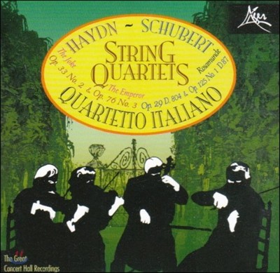 Quartetto Italiano 하이든: 현악 사중주 '농담', '황제' / 슈베르트: 로자문데 사중주 - 이탈리아 사중주단 (Haydn: String Quartet / Schubert: Rosamunde)