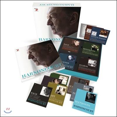 Nikolaus Harnoncourt 니콜라우스 아르농쿠르 소니 레코딩 전집 61CD+3DVD 박스세트 (The Complete Sony Recordings)