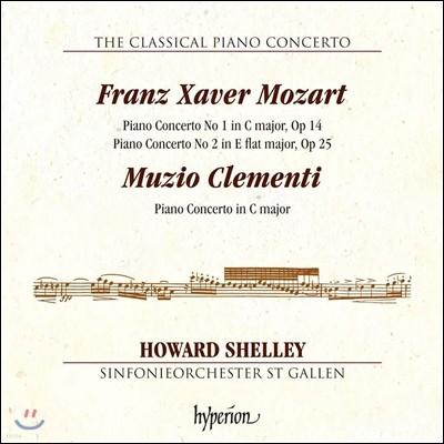 고전주의 피아노 협주곡 3집 - 프란츠 크사버 / 클레멘티 (The Classical Piano Concerto Vol.3 - F.X.Mozart & Clementi) Howard Shelley