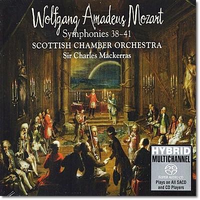 Charles Mackerras 모차르트: 교향곡 38, 39, 40, 41번 - 찰스 맥케라스 (Mozart: Symphonies K.504, 543, 550, 551)