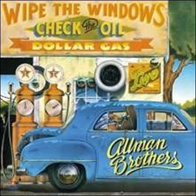 Allman Brothers Band (올맨 브라더스 밴드) - Wipe The Windows / Check The Oil (1972-1975년 라이브) [Remastered 2LP]