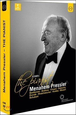 Menahem Pressler 메나헴 프레슬러: 더 피아니스트 DVD 박스세트 - 공연 영상 모음 (The Pianist)