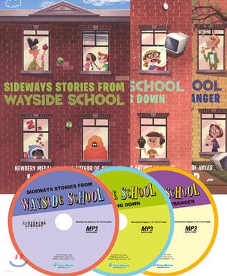 Wayside School 3종 세트 (Book + MP3 CD)