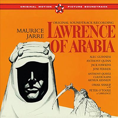Maurice Jarre - Lawrence Of Arabia (아라비아의 로렌스) (Remastered)(14 Bonus Tracks)(Soundtrack)(CD)