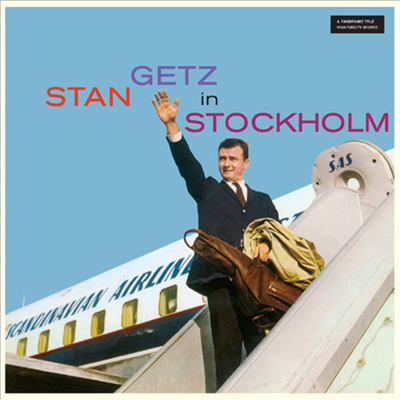 Stan Getz - Stan Getz In Stockholm (Ltd. 180G 오디오파일 LP)