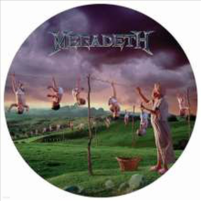 Megadeth - Youthanasia (Remastered)(Limited Edition)(Picture Disc Vinyl LP)