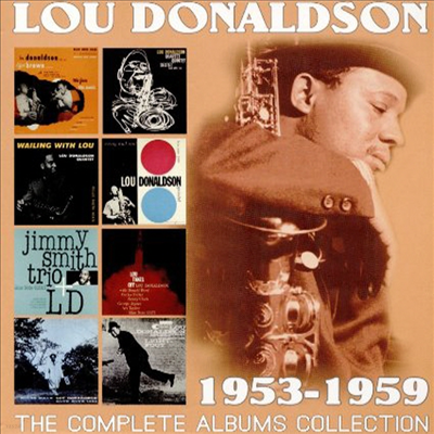 Lou Donaldson - Complete Albums Collection: 1953-1959 (Remastered)(4CD Set)