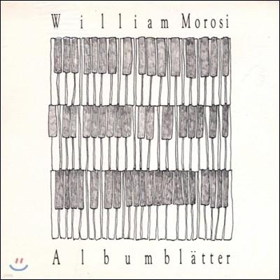 William Morosi (윌리엄 모로시) - Albumblatter