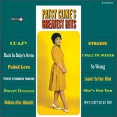 Patsy Cline (팻시 클라인) - Greatest Hits [LP]