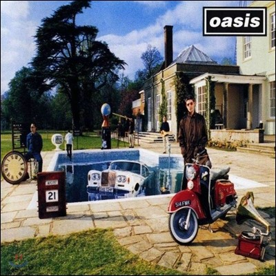 Oasis (오아시스) - Be Here Now [LP]