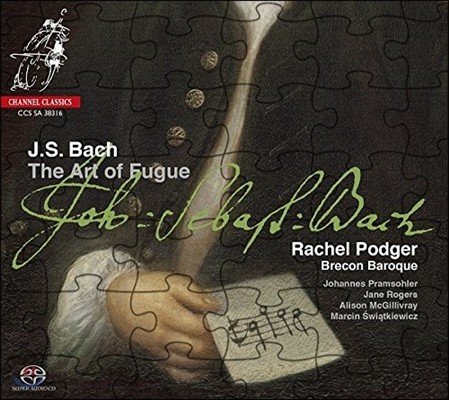 Rachel Podger 바흐: 푸가의 기법 [바로크 앙상블 연주반] (Bach: The Art of Fugue) 레이첼 포저, 브레콘 바로크