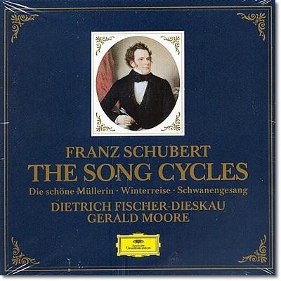 Dietrich Fischer-Dieskau 슈베르트: 3대 연가곡집 (Schubert: The Song Cycles) 피셔-디스카우