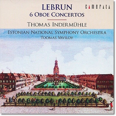 Thomas Indermuhle 레브룬 : 6개의 오보에 협주곡 (Lebrun : The 6 Oboe Concertos)