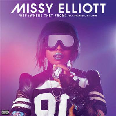 Missy Elliott - WTF (where They From) (12' Single)(Vinyl LP)