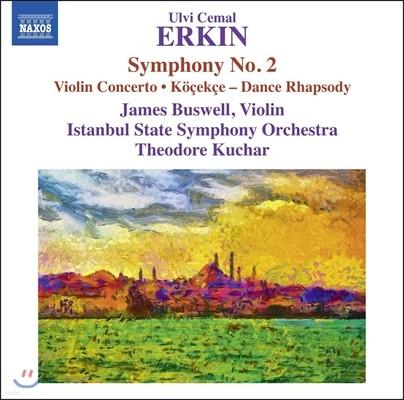 Theodore Kuchar 울비 케말 에르킨: 교향곡 2번, 바이올린 협주곡, 쾨셰크셰 (Ulvi Cemal Erkin: Symphony No.2, Violin Concerto, Kocekce) 테오도르 쿠차르, 이스탄불 국립 심포니