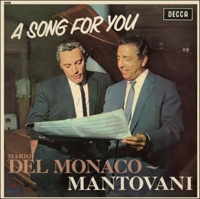 Mario Del Monaco / Mantovani 마리오 델 모나코가 부르는 나폴리 칸초네와 뮤지컬 명곡 모음집 - A Song For You