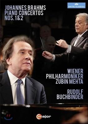 Rudolf Buchbinder / Zubin Mehta 브람스: 피아노 협주곡 1번, 2번 - 주빈 메타, 루돌프 부흐빈더 (Brahms: Piano Concertos Opp.15 & 83)