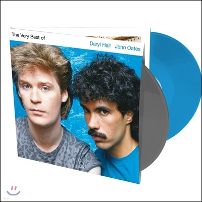 Hall & Oates (홀 앤 오츠) - The Very Best Of Daryl Hall & John Oates [블루 앤 그레이 컬러 바이닐 LP]