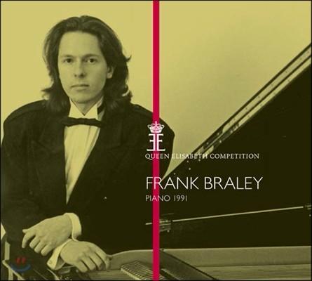 Frank Braley 프랑크 브레일리 - 퀸 엘리자베스 콩쿠르 1991년 실황 (Queen Elisabeth Competition Piano 1991)