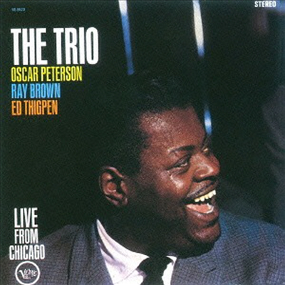 Oscar Peterson Trio - The Trio - Live From Chicago (SHM-CD)(일본반)