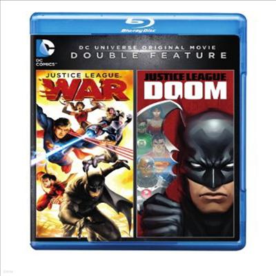 DCU: Justice League: Doom/DCU: Justice League: War (DCU 저스티스 리그 둠) (한글무자막)(Blu-ray)