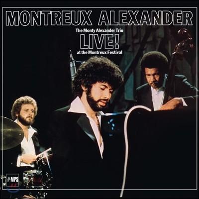 The Monty Alexander Trio (몬티 알렉산더 트리오) - Montreux Alexander Live!: At the Montreux Festival (몽트뢰 알렉산더 라이브) [LP]