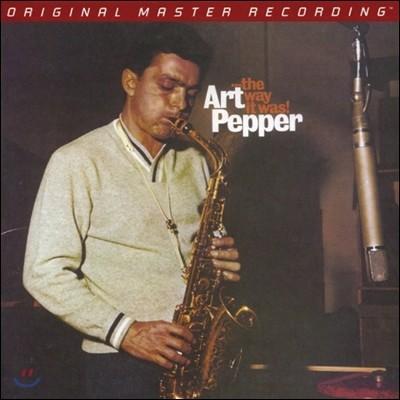 Art Pepper (아트 페퍼) - … The Way It Was! [SACD Hybrid]