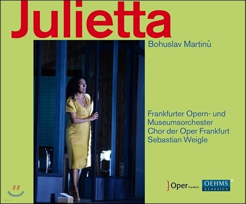 Sebastian Weigle / Kurt Streit 마르티누: 오페라 '줄리에타' (Bohuslav Martinu: Julietta) 프랑크푸르트 오페라 오케스트라, 세바스티안 바이글