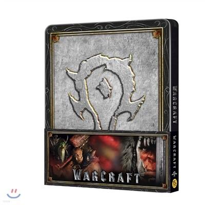 워크래프트: 전쟁의 서막 (2D+3D 스틸북 호드 띠지 한정수량) : 블루레이