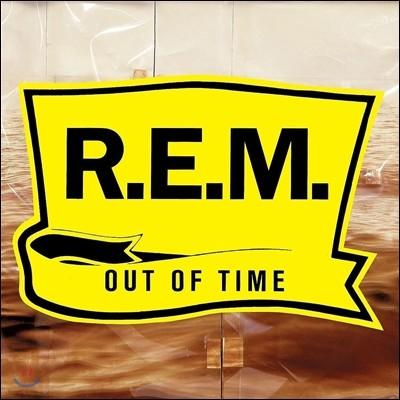 R.E.M. (알이엠) - 7집 Out Of Time [리마스터드 LP]