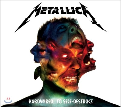 Metallica (메탈리카) - Hardwired... To Self-Destruct [2CD 스탠다드 에디션]