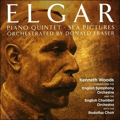 Kenneth Woods 엘가: 피아노 오중주, 바다 풍경 [관현악 편곡] (Elgar: Piano Quintet Orchestra arrangement, Sea Pictures) 케네스 우즈