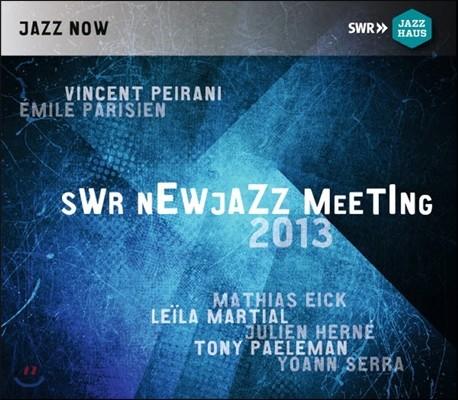 Vincent Peirani, Emile Parisien, Mathias Eick (뱅상 페라니, 에밀 파리지앵, 마티아스 아익) - SWR Newjazz Meeting 2013